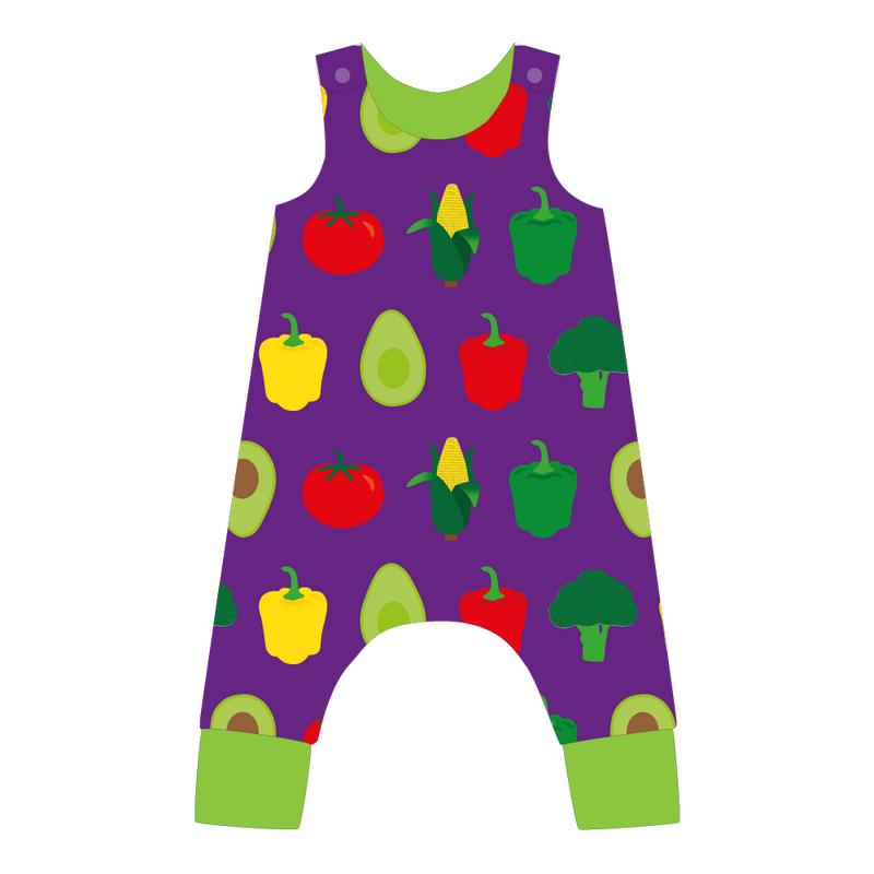 Pikolo Five a day lined dungarees sale