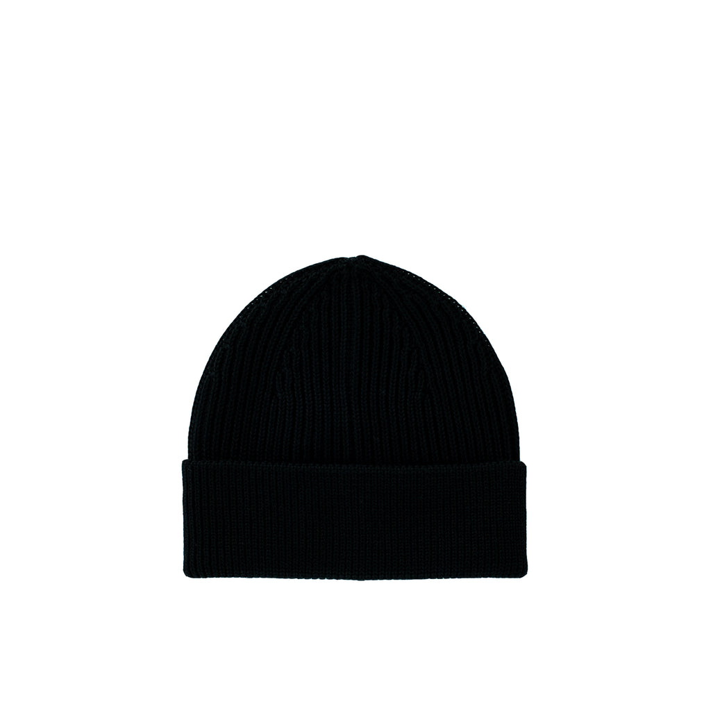 Long Beanie - Black