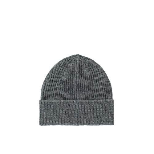 Long Beanie - Grey