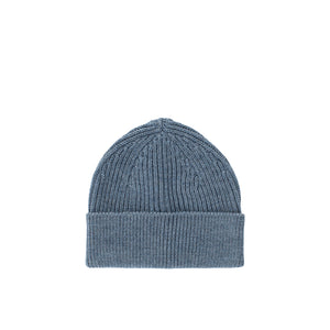 Long Beanie - Light Indigo