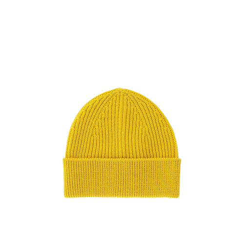 Long Beanie - Yellow