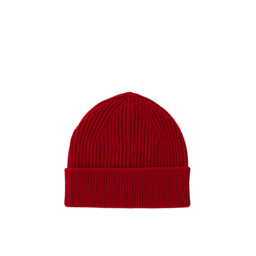Long Beanie - Red