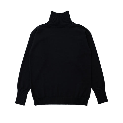 Seaman Turtleneck - Black