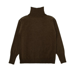 Seaman Turtleneck - Natural Brown