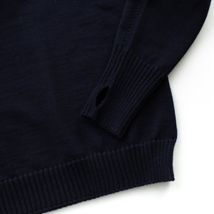 Seaman Turtleneck - Navy Blue