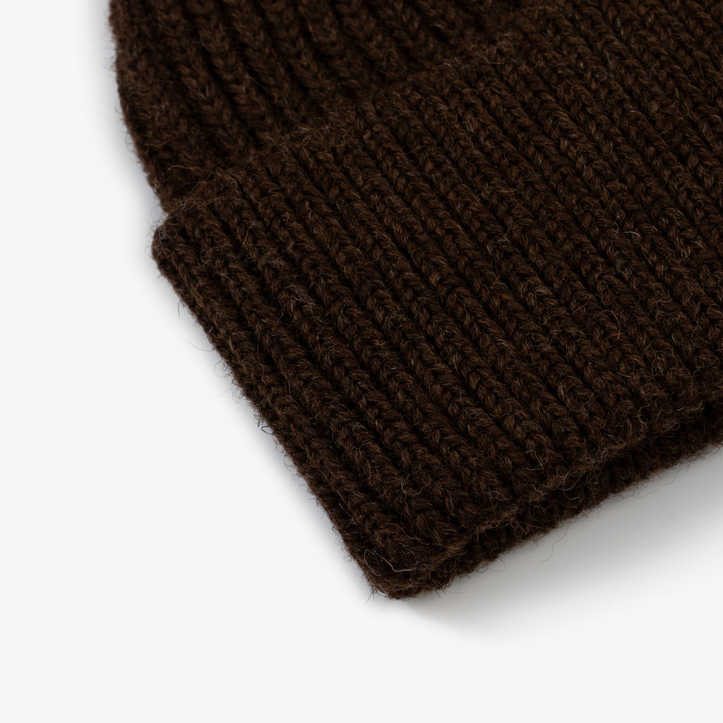 ANDERSEN-ANDERSEN Beanie Classic - Natural Brown