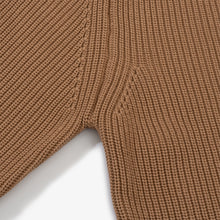 Cotton Crewneck - Camel
