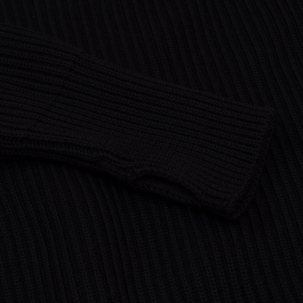ANDERSEN-ANDERSEN Navy Half Zip Pockets - Black