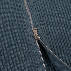 ANDERSEN-ANDERSEN Navy Full Zip - Light Indigo