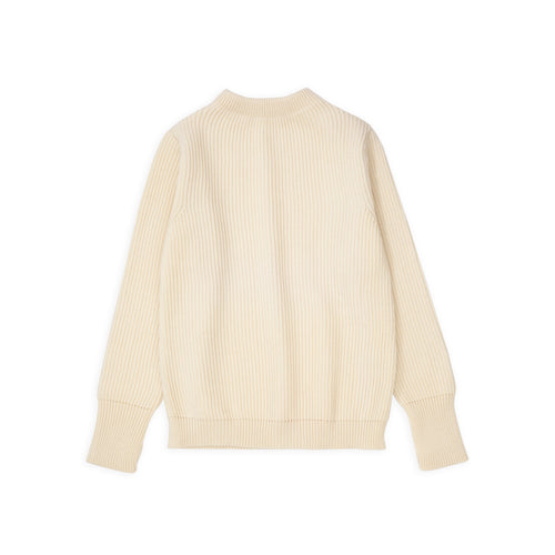 Navy Crewneck - Off-white