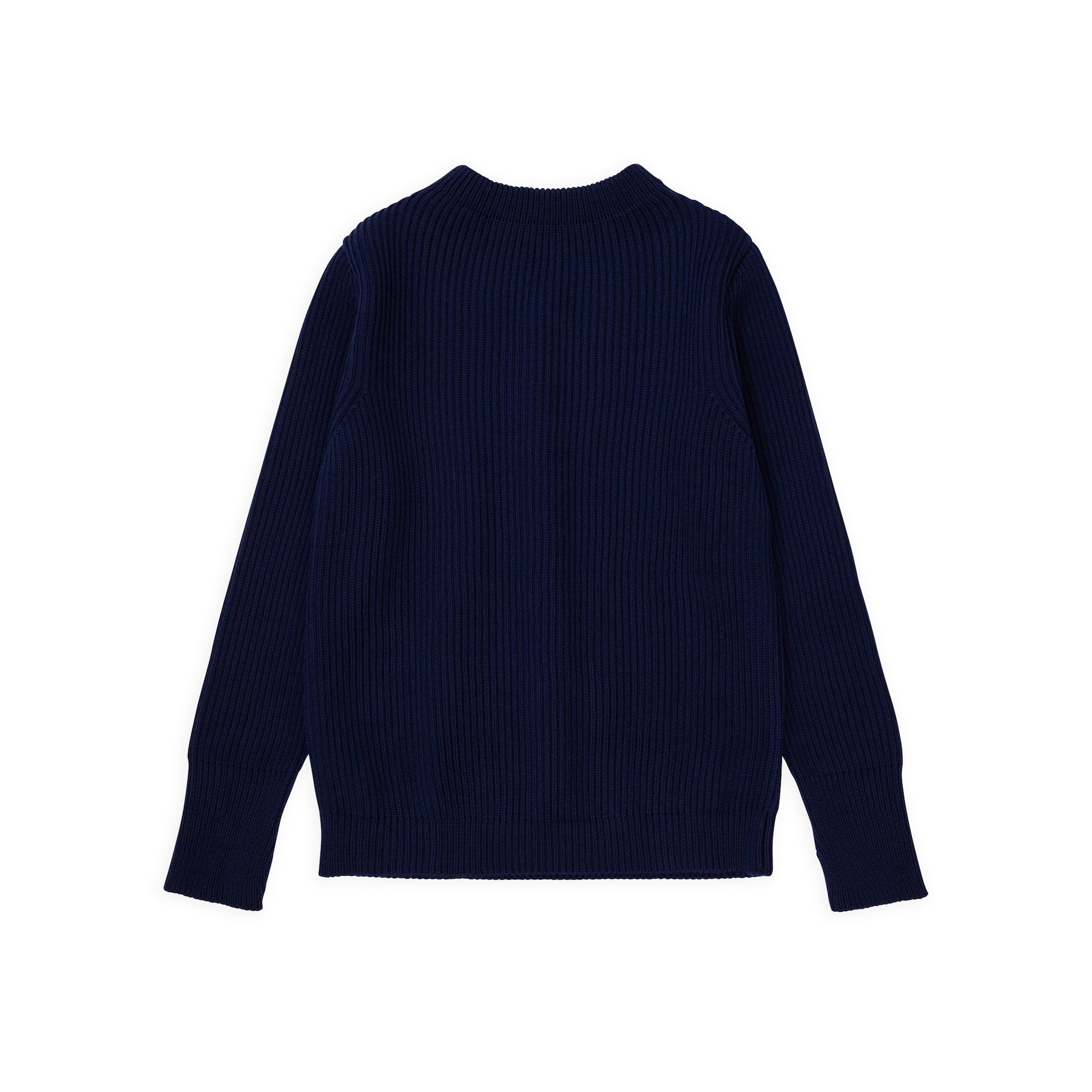 Navy Crewneck - Royal Blue