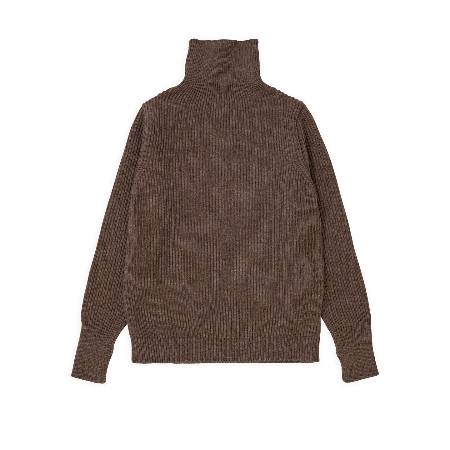 ANDERSEN-ANDERSEN Navy Turtleneck - Natural taupe