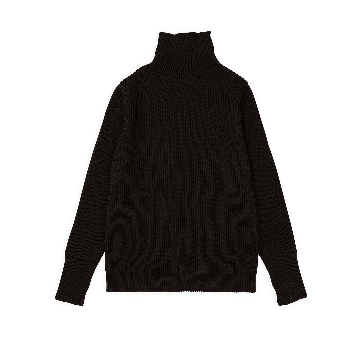 ANDERSEN-ANDERSEN Navy Turtleneck - Hunting Green