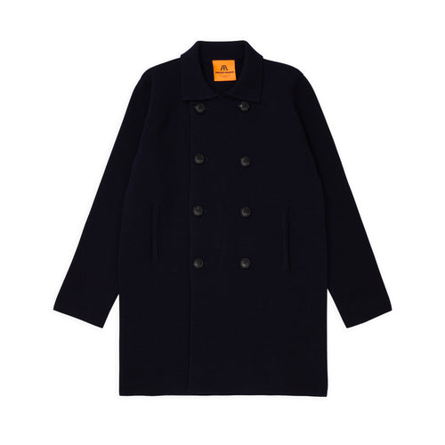 ANDERSEN-ANDERSEN Peacoat Long - Navy Blue