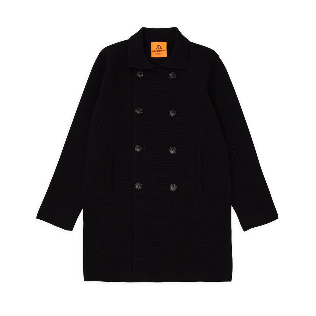 ANDERSEN-ANDERSEN Peacoat Long - Black