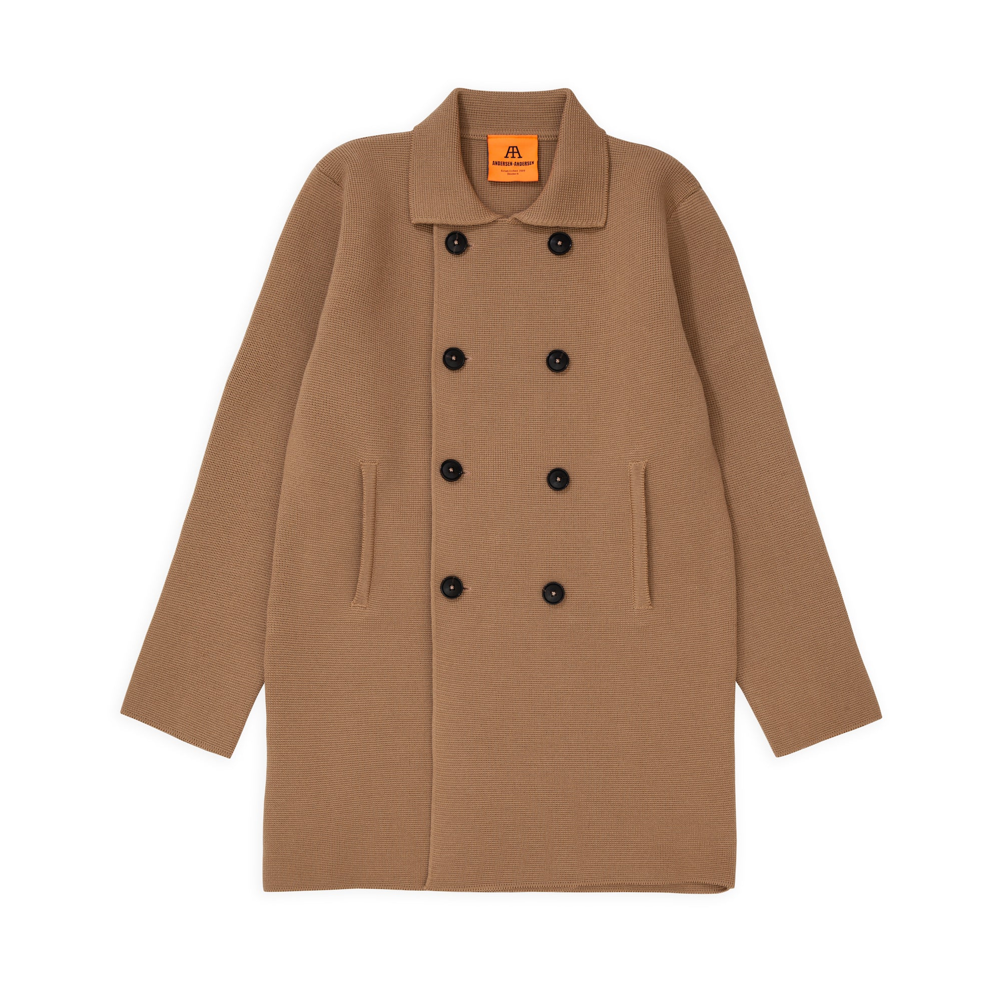 Peacoat Long - Camel