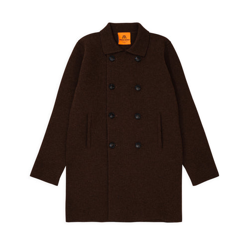 Peacoat Long - Natural Brown