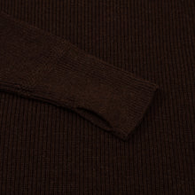 ANDERSEN-ANDERSEN Sailor Turtleneck - Natural Brown
