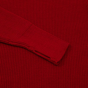 ANDERSEN-ANDERSEN Sailor Turtleneck - Red