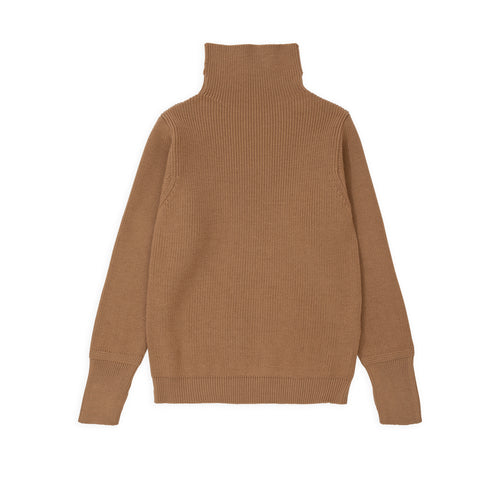 ANDERSEN-ANDERSEN Sailor Turtleneck - Camel