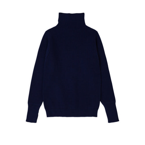 Sailor Turtleneck - Royal Blue