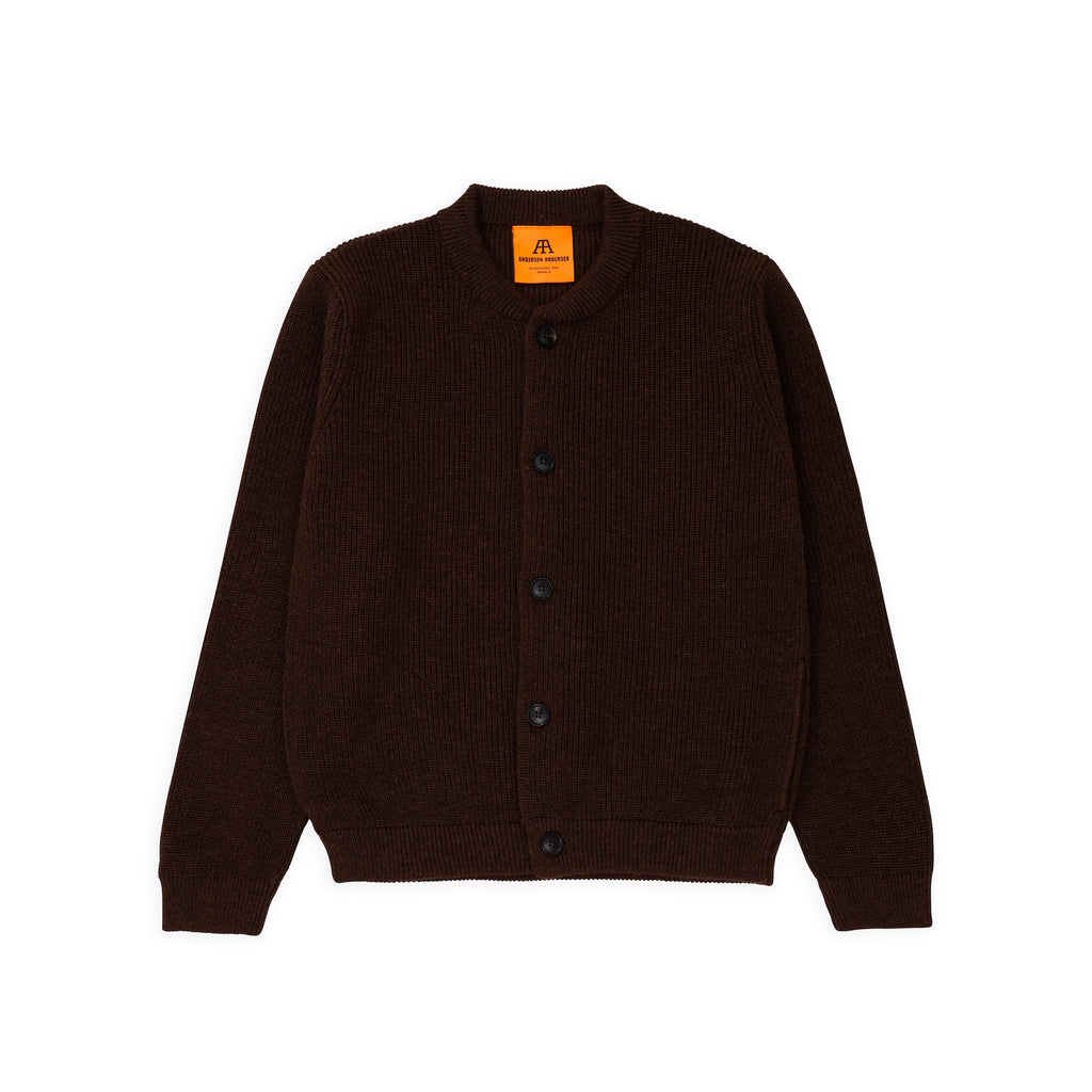 ANDERSEN-ANDERSEN Skipper Jacket - Natural Brown