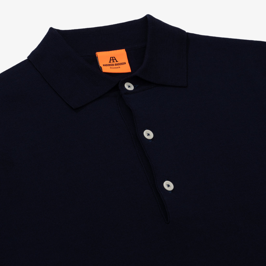 Polo Long - Royal Blue