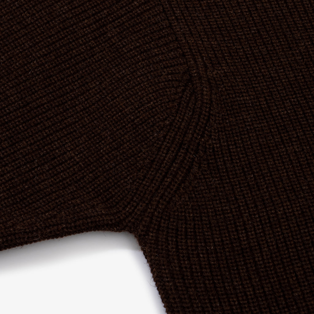ANDERSEN-ANDERSEN Sailor Crewneck - Natural Brown