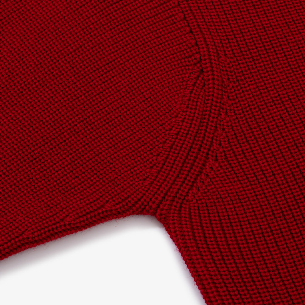 Sailor Turtleneck - Red