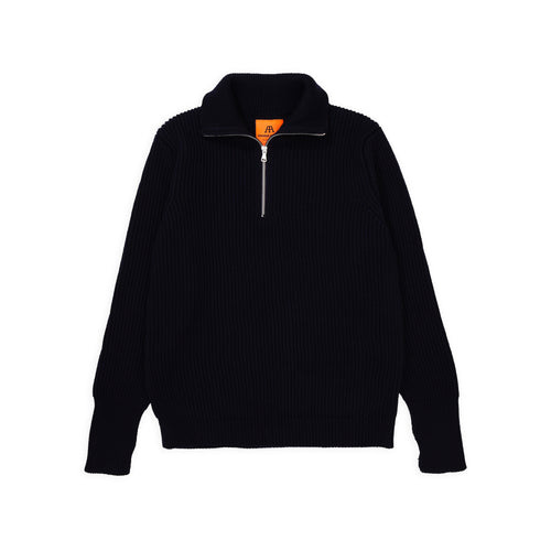 Navy Half-Zip - Navy Blue