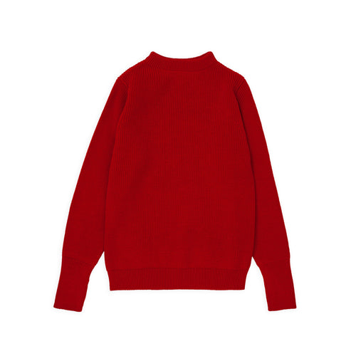 ANDERSEN-ANDERSEN Sailor Crewneck - Red
