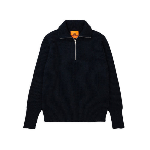 Navy Half-Zip - Dark Indigo