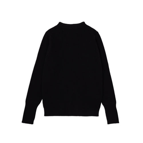 ANDERSEN-ANDERSEN Sailor Crewneck - Black