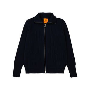 ANDERSEN-ANDERSEN Navy Full Zip pockets - Navy Blue
