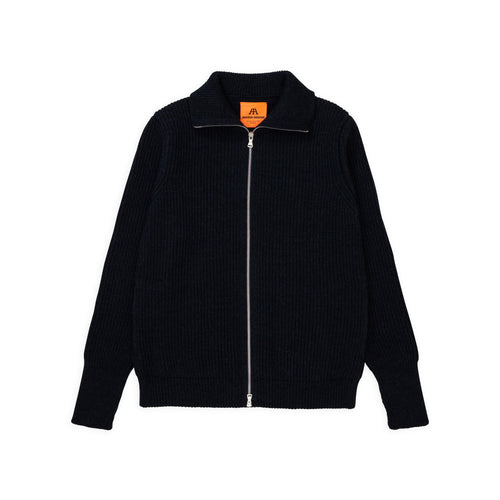 Navy Full-Zip - Dark Indigo