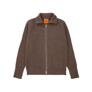 ANDERSEN-ANDERSEN Navy Full Zip - Natural Taupe