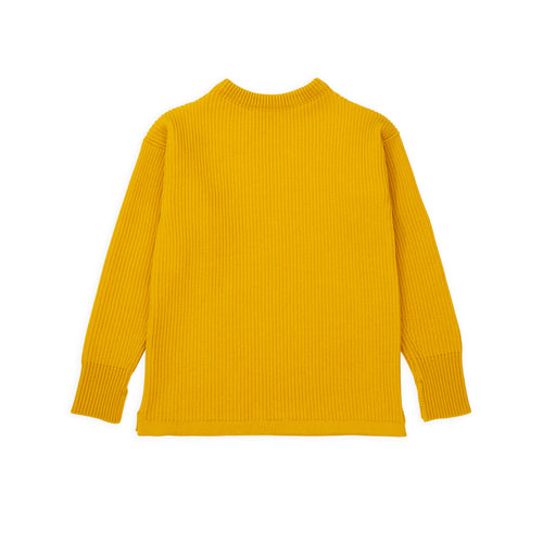 ANDERSEN-ANDERSEN Shore Crewneck - Yellow