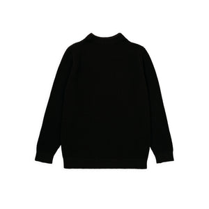 Cotton Crewneck - Dark Brown