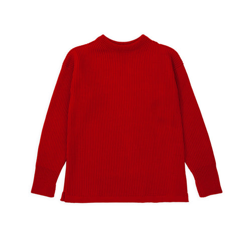 ANDERSEN-ANDERSEN Shore Crewneck - Red