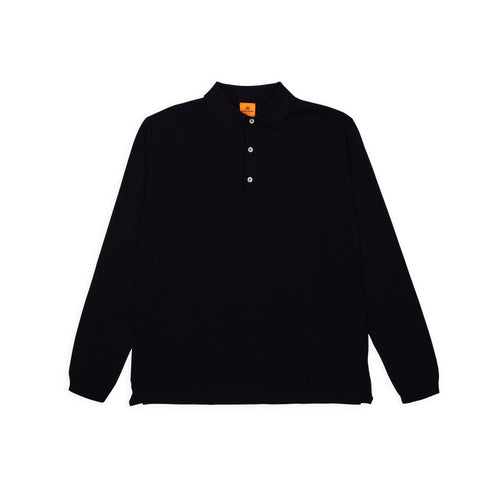 ANDERSEN-ANDERSEN Polo Long - Navy Blue