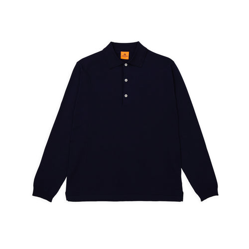 ANDERSEN-ANDERSEN Polo Long - Royal Blue