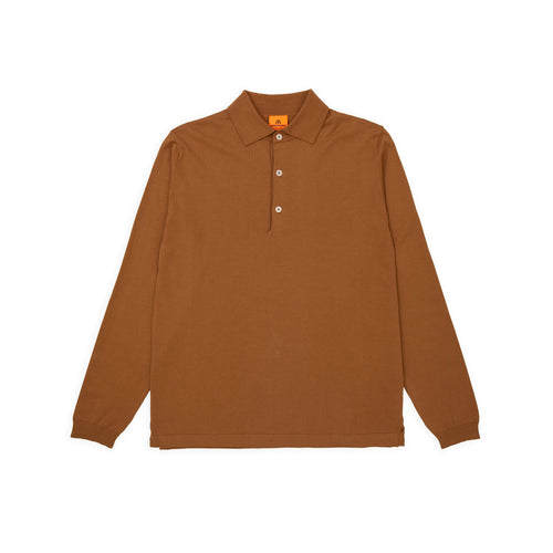 ANDERSEN-ANDERSEN Polo Long - Dark Camel