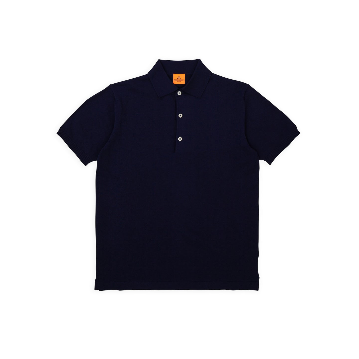 ANDERSEN-ANDERSEN Polo Short - Royal Blue