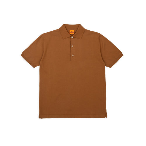 Polo Short - Dark Camel