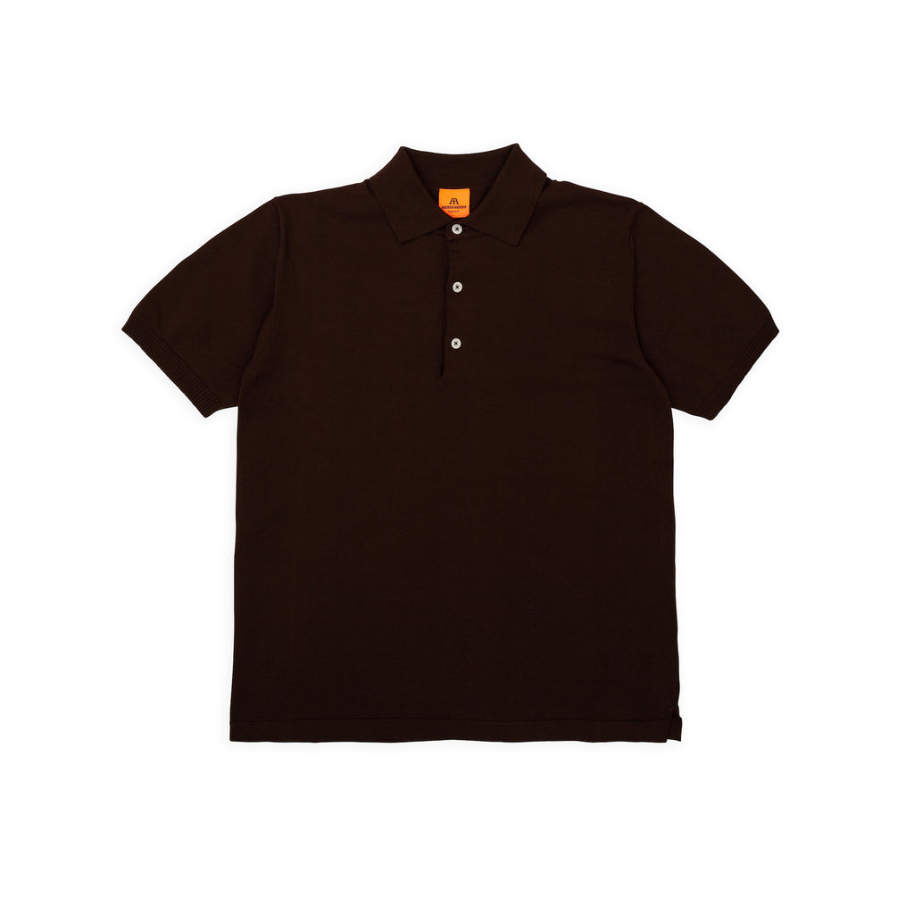 ANDERSEN-ANDERSEN Polo Short - Brown