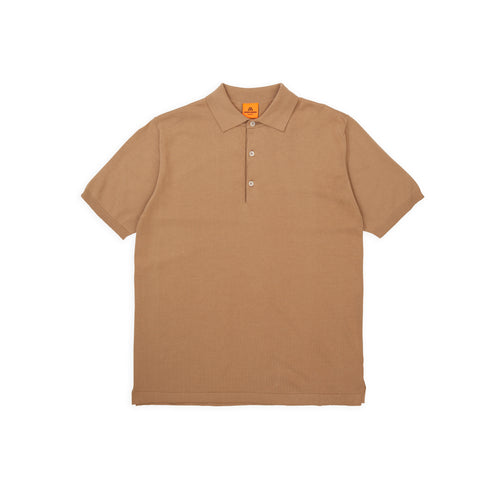 Polo Short - Camel