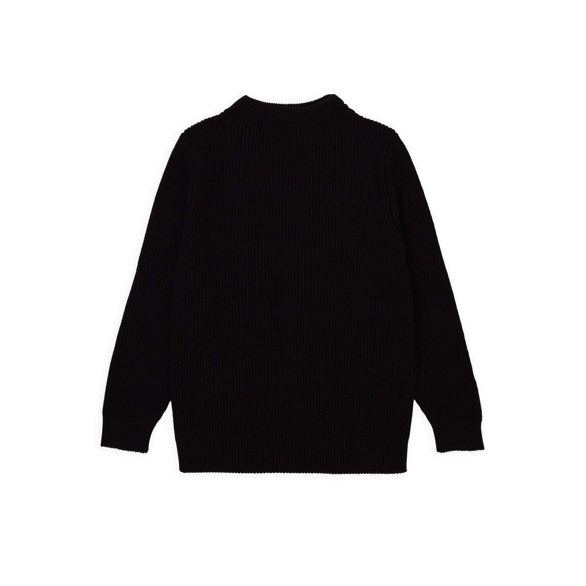 Cotton Crewneck - Black