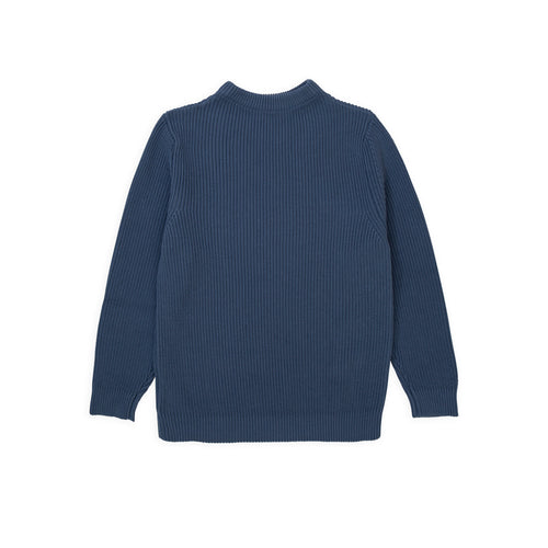 Cotton Crewneck - Petroleum