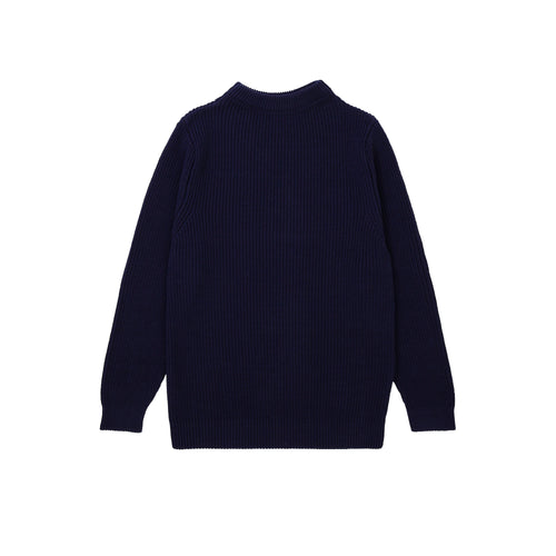 Cotton Crewneck - Royal Blue