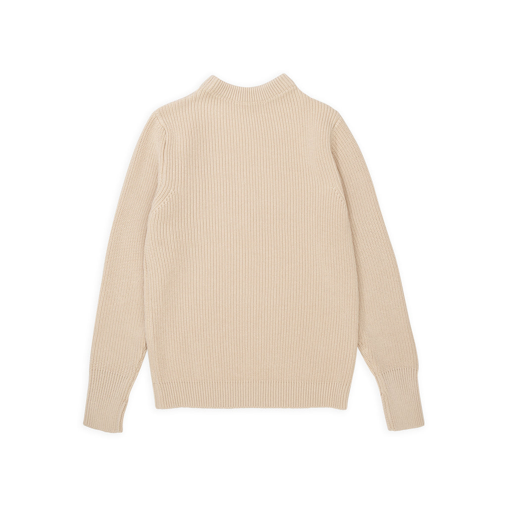 ANDERSEN-ANDERSEN Cotton Crewneck - Raw Cotton
